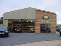 Landrover Dealership