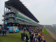 Grandstand for Motor Racing Course