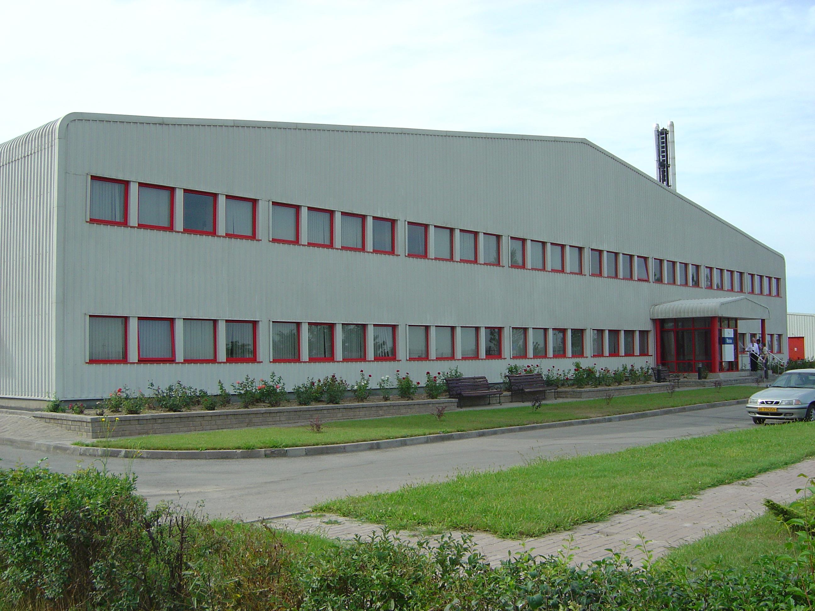 Steel industrial building construction design industrial for Factory building design