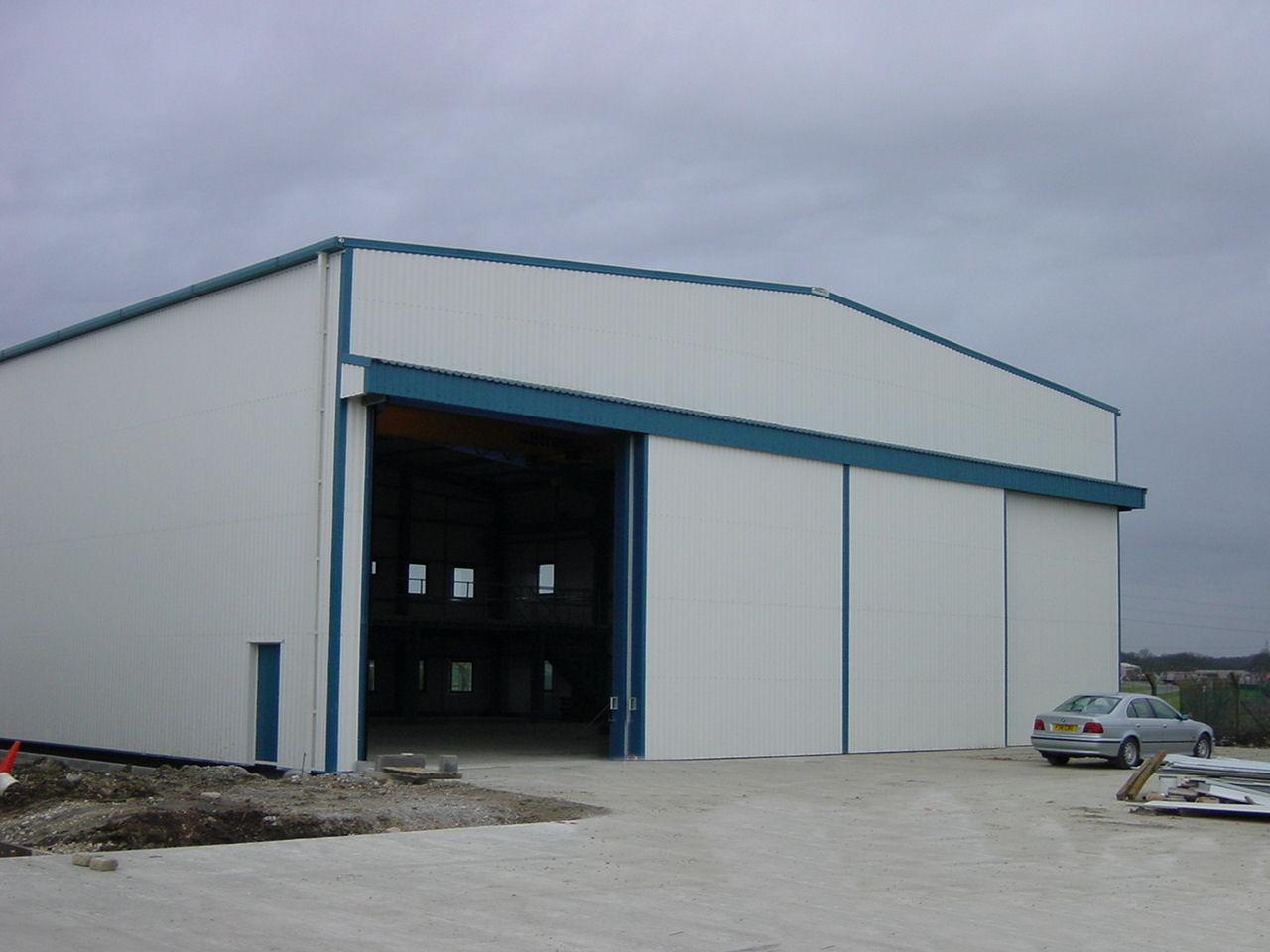 Steel Industrial Building Construction Design Industrial